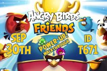 Angry Birds Friends 2019 Tournament T671 On Now!
