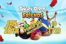 Angry Birds Friends 2020 Tournament T719 On Now!