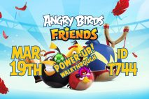 Angry Birds Friends 2020 Tournament T744 On Now!
