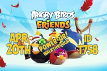 Angry Birds Friends 2020 Tournament T758 On Now!