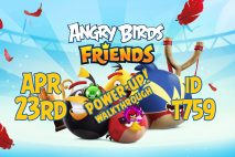 Angry Birds Friends 2020 Tournament T759 On Now!