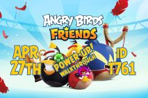 Angry Birds Friends 2020 Tournament T761 On Now!
