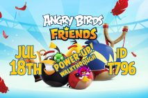 Angry Birds Friends 2020 Tournament T796 On Now!