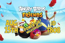 Angry Birds Friends 2020 Tournament T808 On Now!