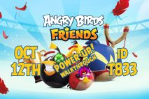 Angry Birds Friends 2020 Tournament T833 On Now!