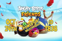 Angry Birds Friends 2020 Tournament T838 On Now!