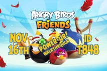 Angry Birds Friends 2020 Tournament T848 On Now!