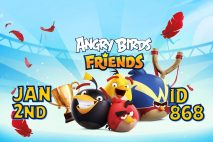 Angry Birds Friends 2021 Tournament T868 On Now!
