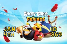 Angry Birds Friends 2021 Tournament T869 On Now!