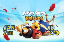 Angry Birds Friends 2021 Tournament T870 On Now!