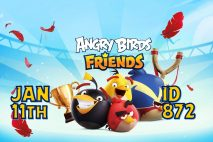 Angry Birds Friends 2021 Tournament T872 On Now!