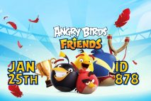 Angry Birds Friends 2021 Tournament T878 On Now!