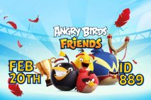 Angry Birds Friends 2021 Tournament T889 On Now!