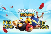 Angry Birds Friends 2021 Tournament T890 On Now!
