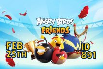 Angry Birds Friends 2021 Tournament T891 On Now!