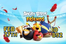 Angry Birds Friends 2021 Tournament T892 On Now!