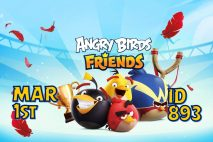 Angry Birds Friends 2021 Tournament T893 On Now!