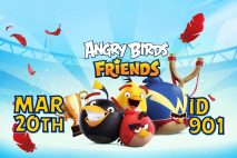 Angry Birds Friends 2021 Tournament T901 On Now!