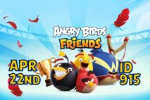 Angry Birds Friends 2021 Tournament T915 On Now!