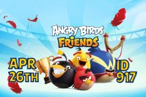 Angry Birds Friends 2021 Tournament T917 On Now!