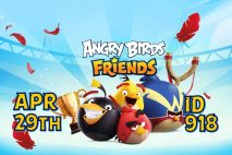Angry Birds Friends 2021 Tournament T918 On Now!