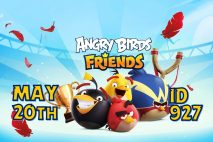 Angry Birds Friends 2021 Tournament T927 On Now!