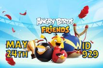 Angry Birds Friends 2021 Tournament T929 On Now!