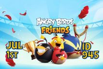 Angry Birds Friends 2021 Tournament T945 On Now!