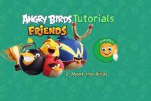 Angry Birds Friends – Tutorial 2 – Meet the birds