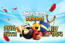 Angry Birds Friends 2021 Tournament T964 On Now!