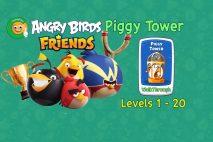 Angry Birds Friends – Piggy Tower – Walkthroughs Part 1