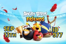Angry Birds Friends 2021 Tournament T977 On Now!