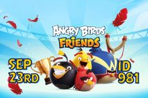 Angry Birds Friends 2021 Tournament T981 On Now