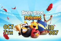 Angry Birds Friends 2021 Tournament T987 On Now!