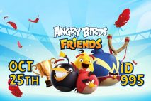 Angry Birds Friends 2021 Tournament T995 On Now!