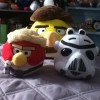 My New Angry Birds Star Wars Plushies