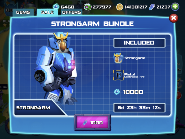 2018 March Strongarm offer