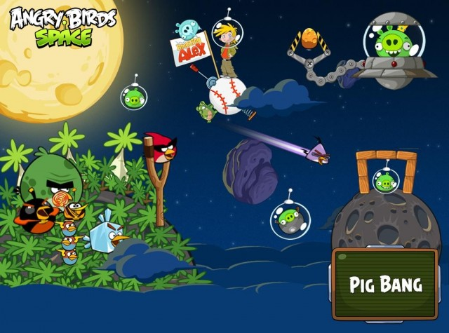 Angry Birds Space Lo