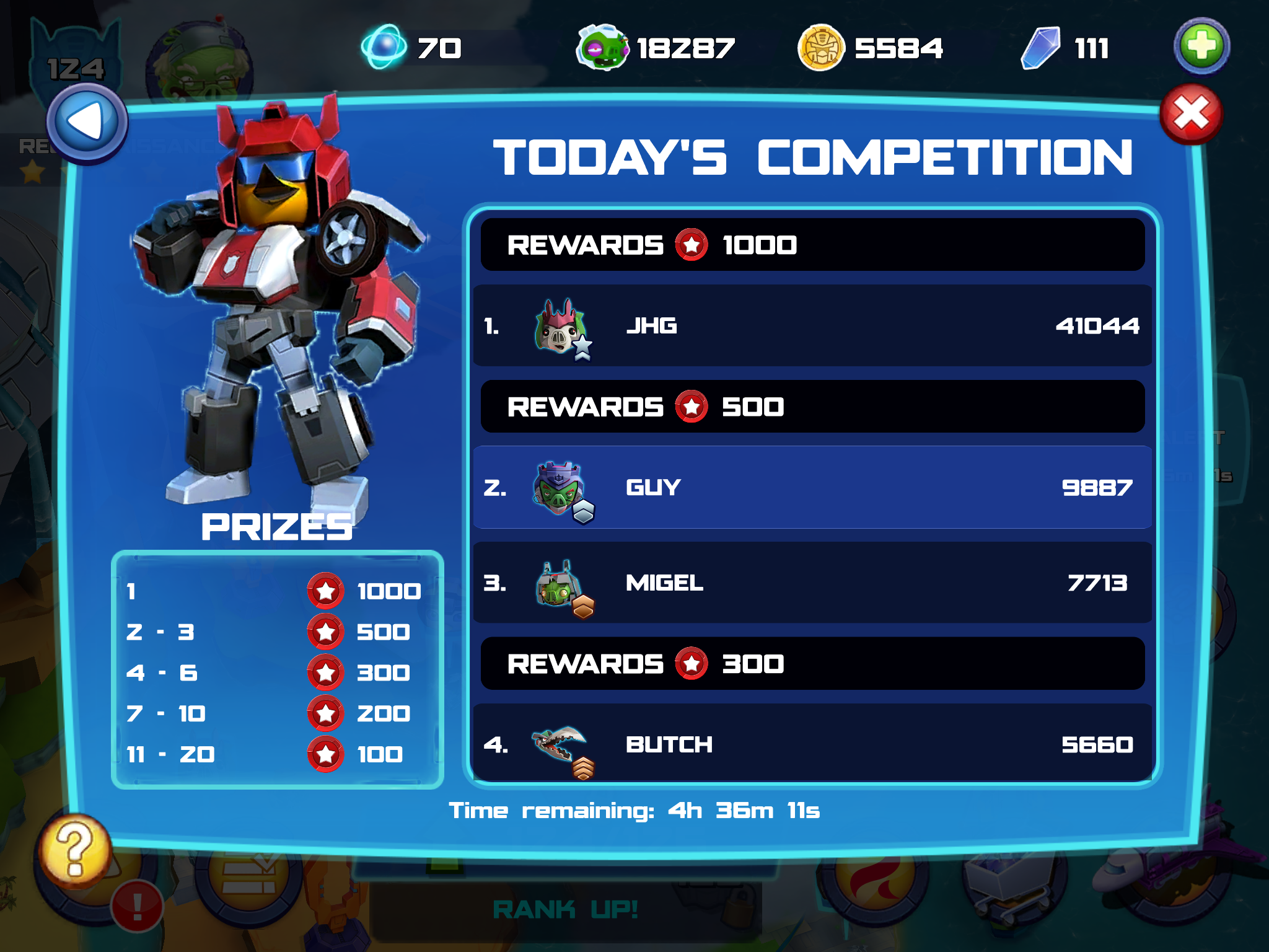 """""""There are no bots on the leaderboards"""" -Rovio"""