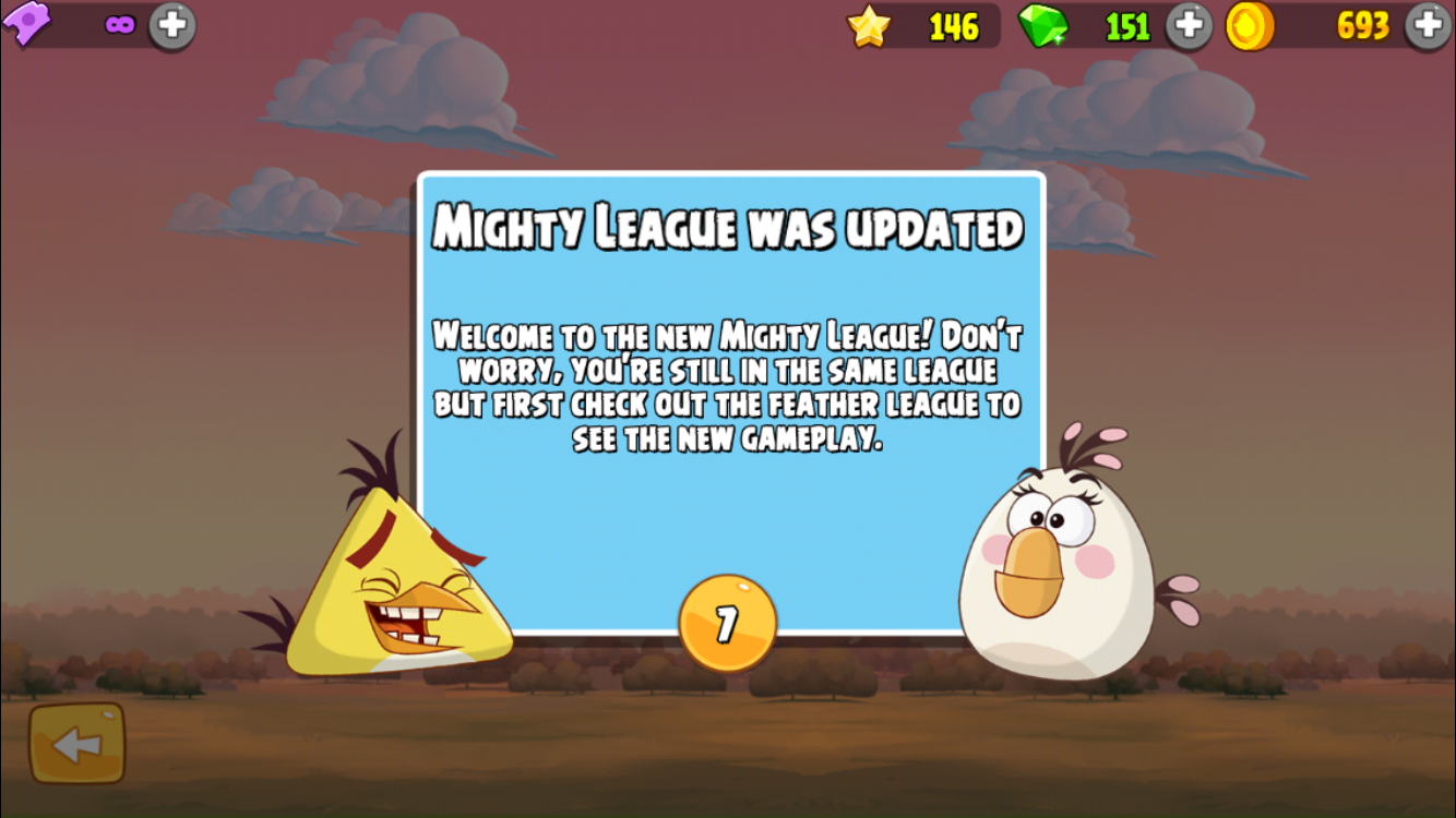 Feather league countdown