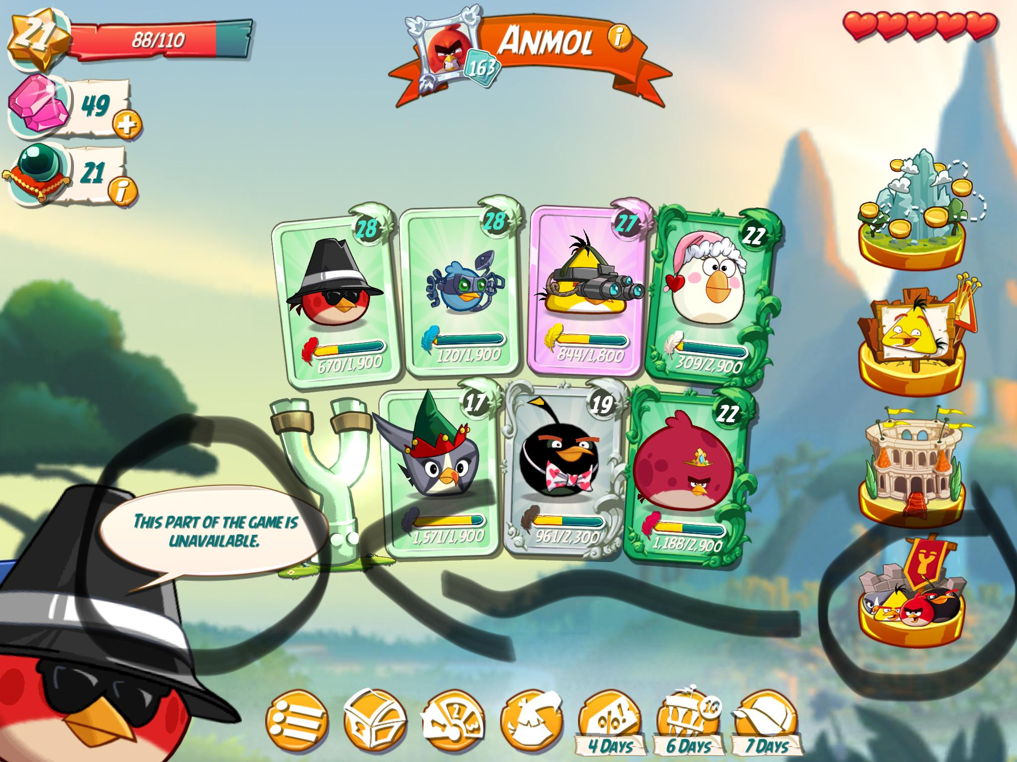 angry birds evolution clan age