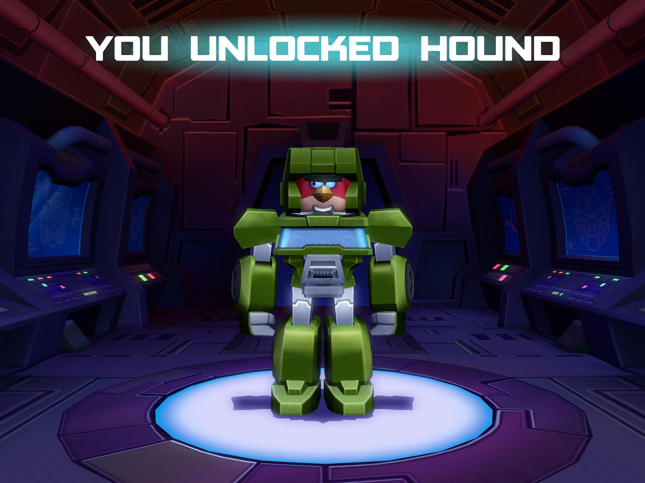 I unlocked Hound!