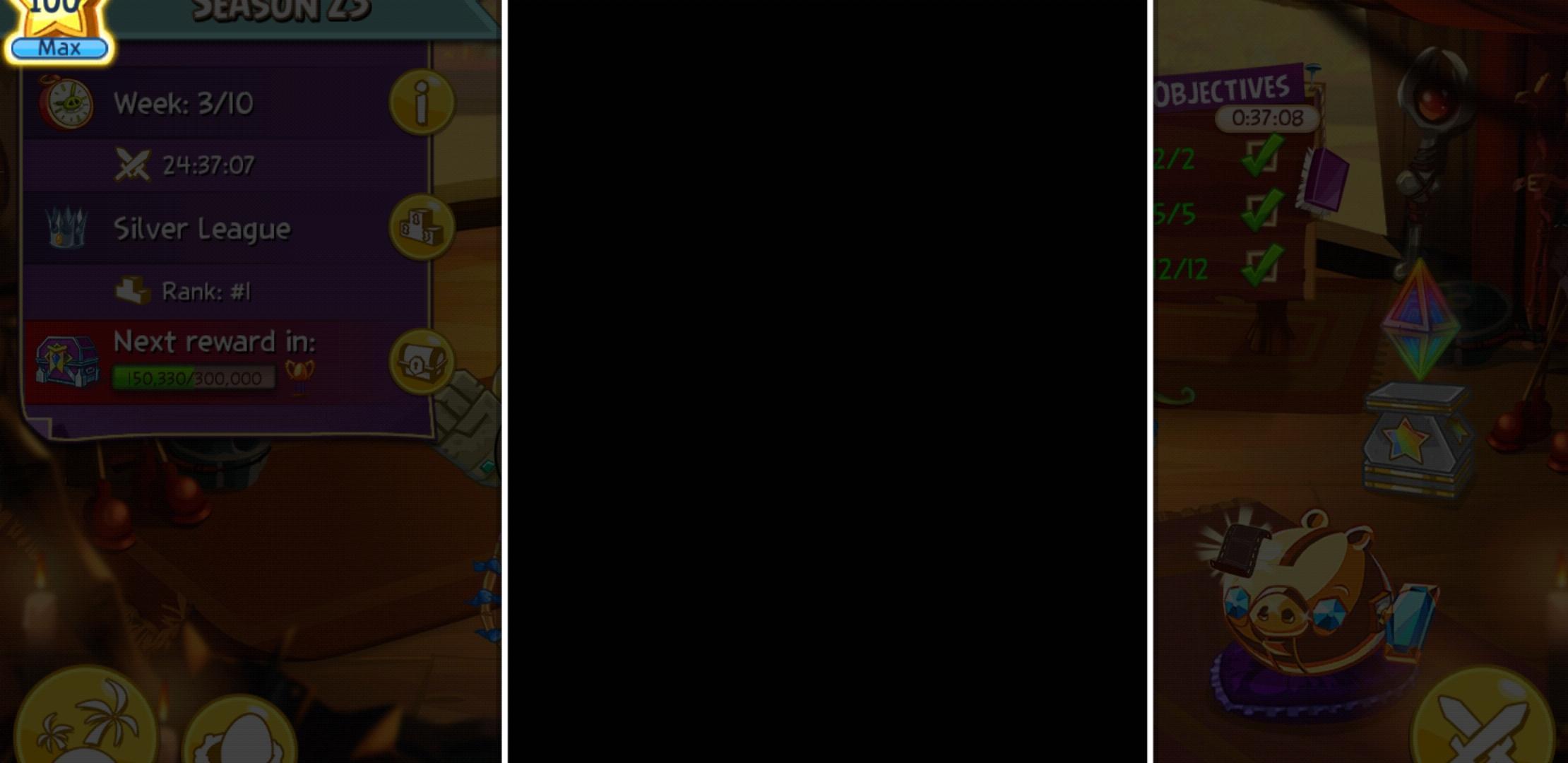 screenshot of arena freeze