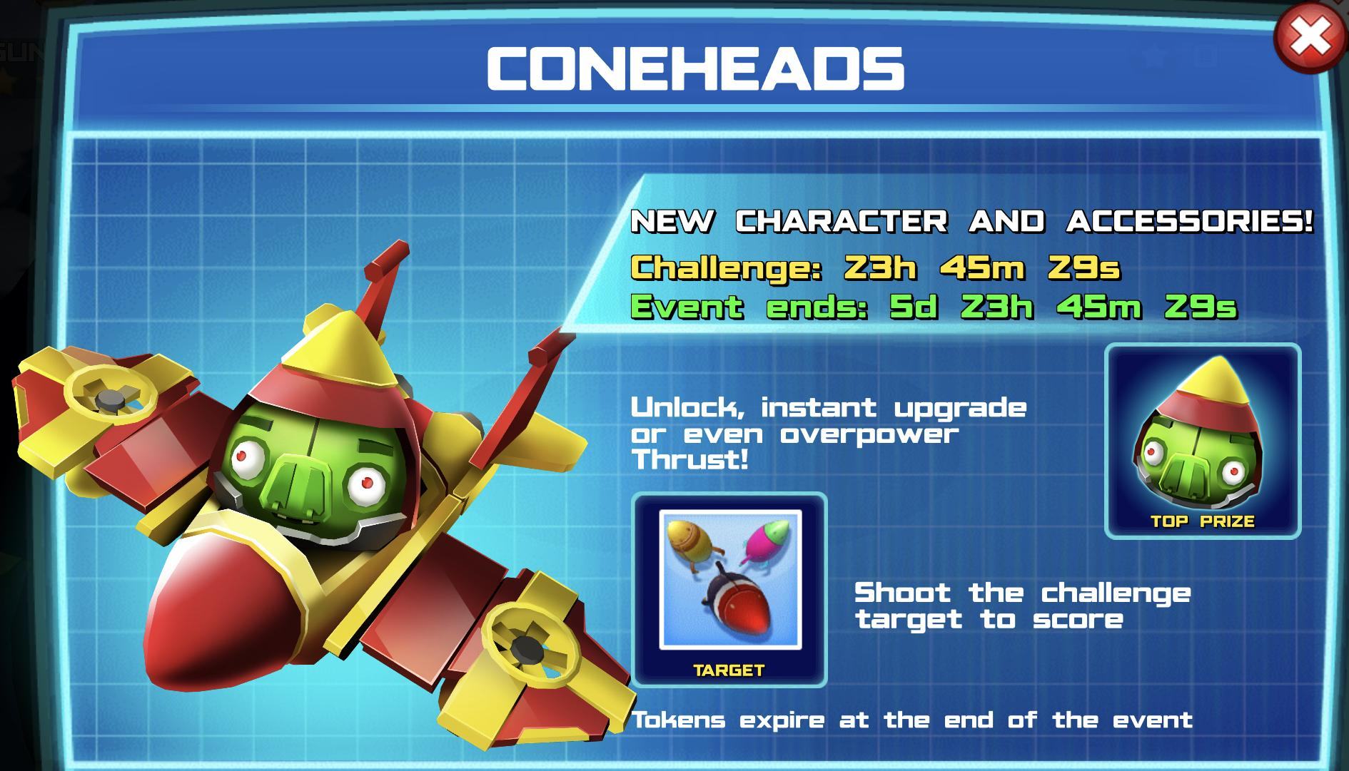 The Event Banner for the Coneheads