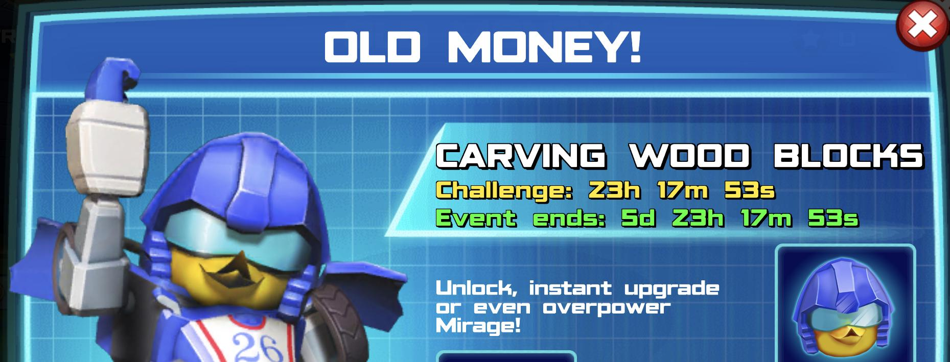 The Event Banner for Old Money!