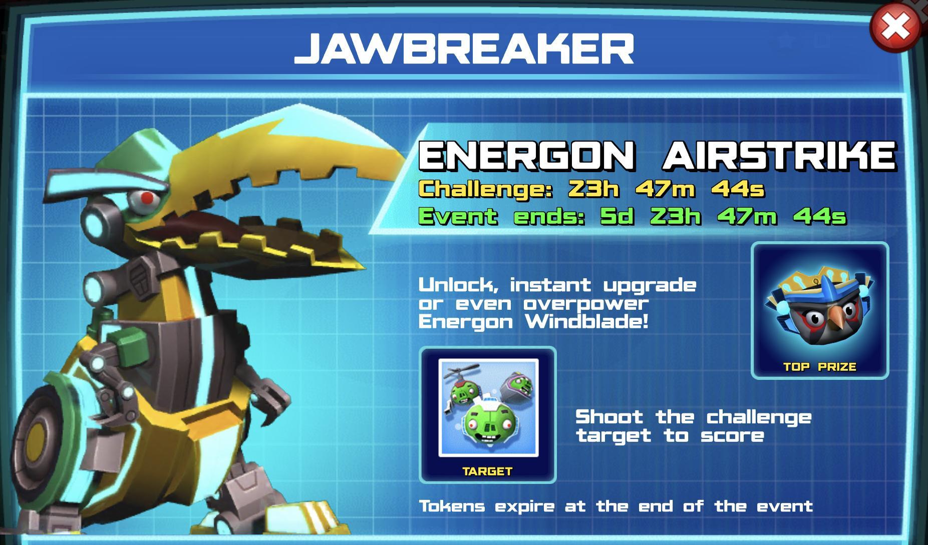 The event banner for Jawbreaker