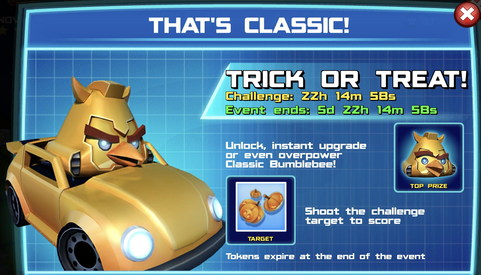 The event banner for That's Classic