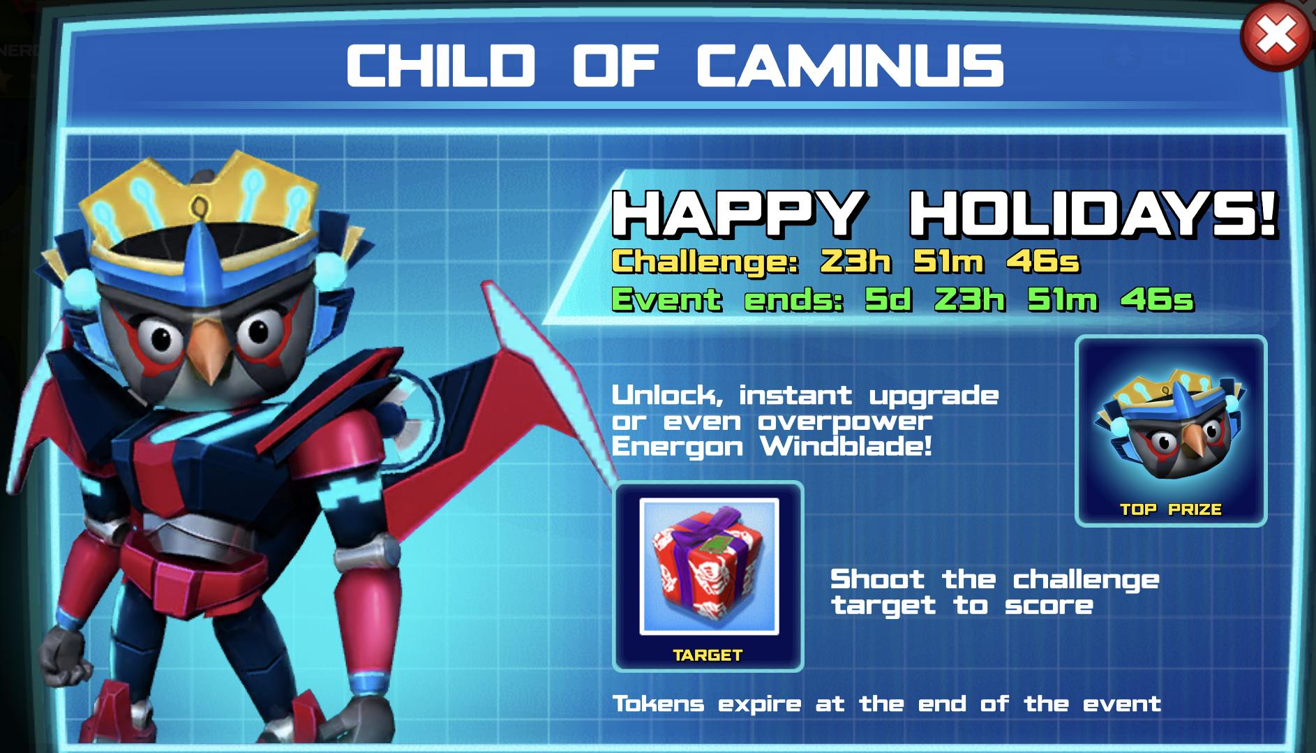 The event banner for Child of Caminus