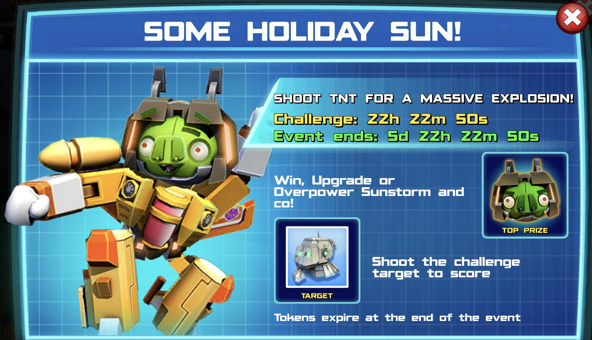 The event banner for SoMe Holiday sun!
