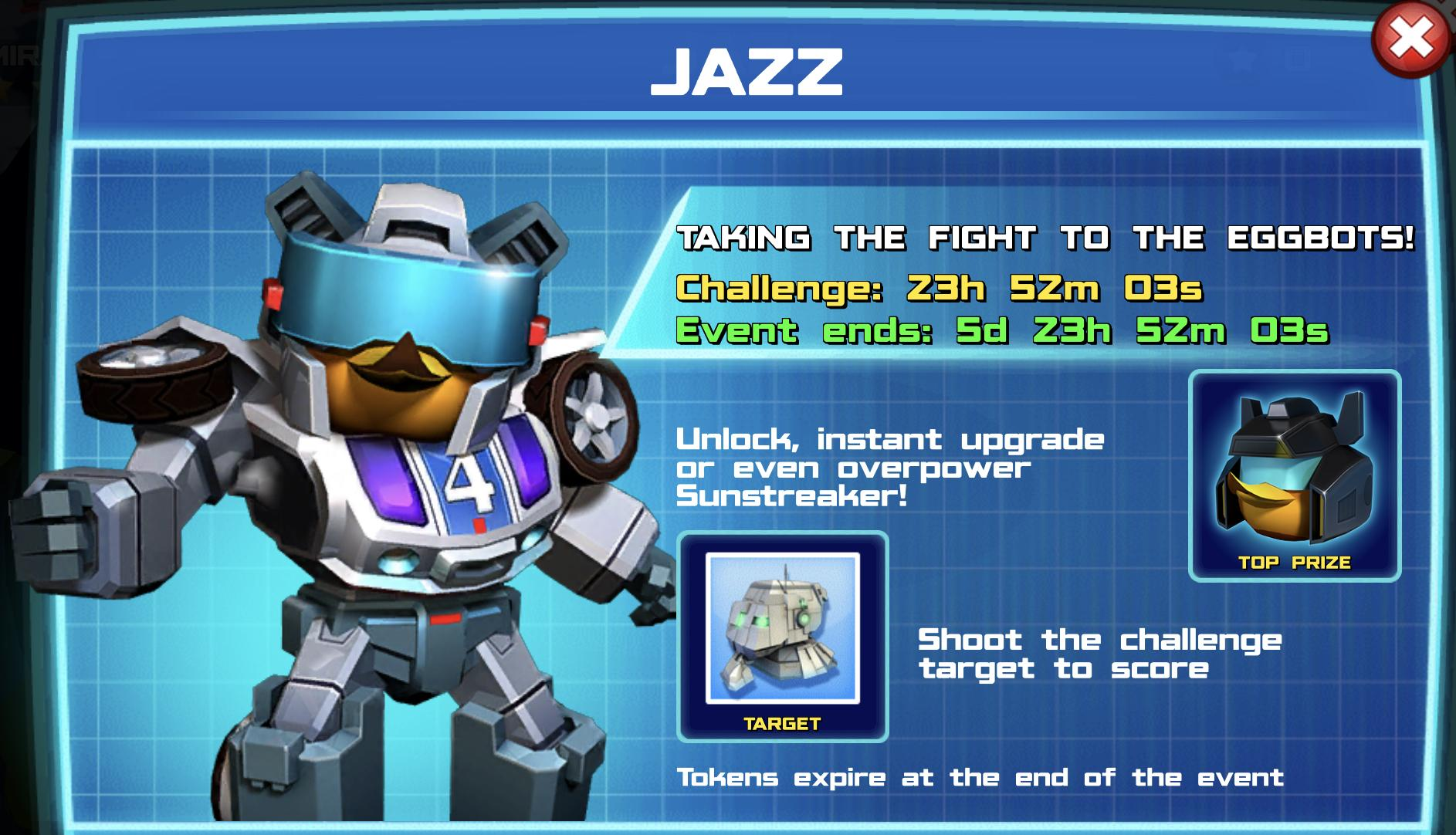 The event banner for Jazz